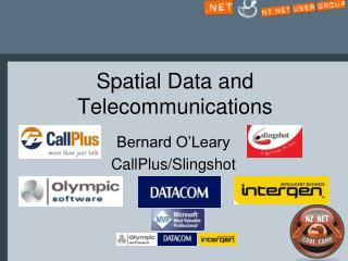 Spatial Data and Telecommunications