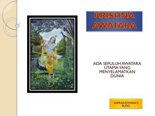 KRISHNA   AWATARA