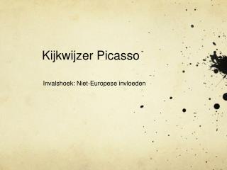 Kijkwijzer Picasso