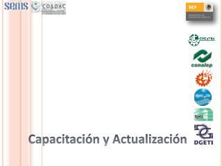 Capacitaci�n y Actualizaci�n