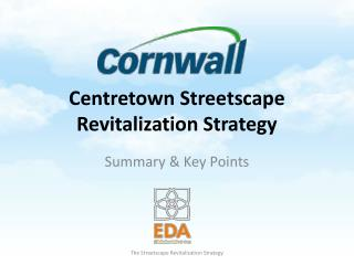 Centretown  Streetscape Revitalization  Strategy