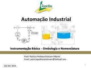 Instrumentação  Básica  -  Simbologia e Nomenclatura