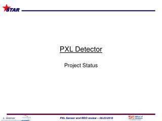 PXL Detector Project Status