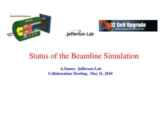 Status of the Beamline Simulation