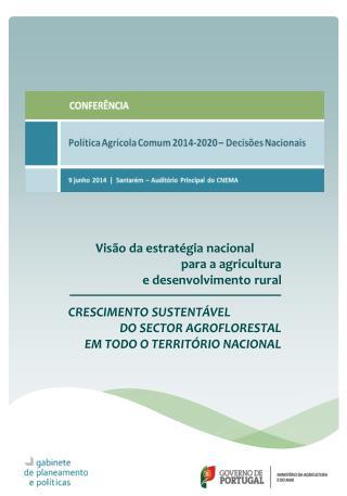 Visão  da estratégia  nacional para  a  agricultura  e desenvolvimento rural
