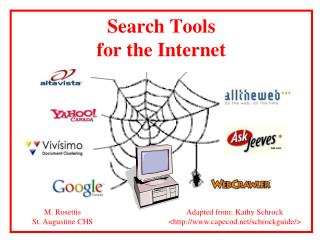 Search Tools  for the Internet