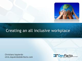 Creating an all inclusive workplace