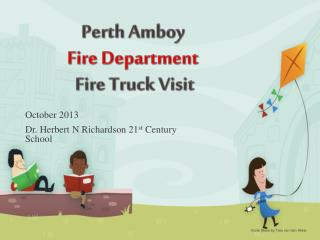 Perth Amboy Fire Department Fire Truck Visit