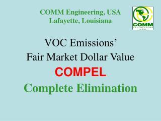 COMM Engineering, USA Lafayette, Louisiana