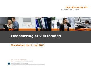 Finansiering af virksomhed