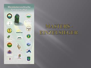Masters - Einzelsieger