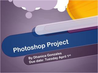 Photoshop Project