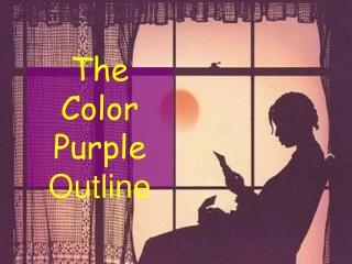 The Color Purple Outline