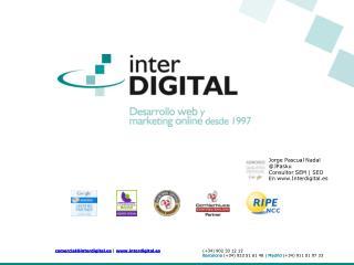 Jorge  Pascual Nadal @ JPasku Consultor SEM | SEO En Interdigital.es