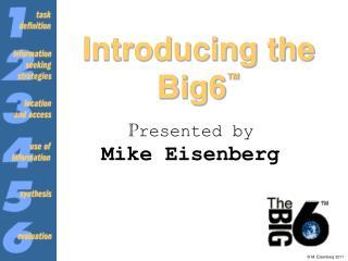Introducing the Big6 ™