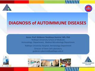 DIAGNOSIS of AUTOIMMUNE DISEASES