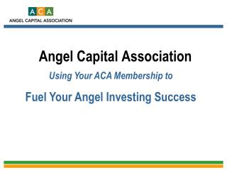 Angel Capital Association