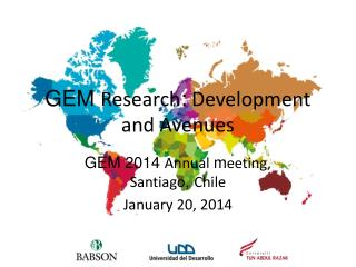 GEM  Research :  Development and Avenues
