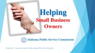 Helping  Small Business  Owners