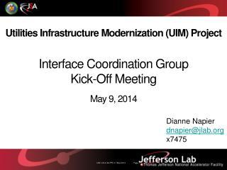 Utilities Infrastructure Modernization (UIM) Project