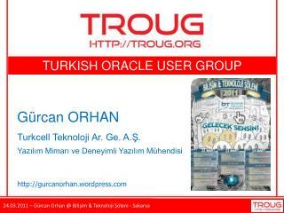 TURKISH  ORACLE USER GROUP