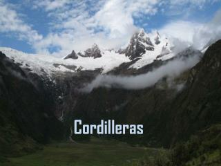 Cordilleras