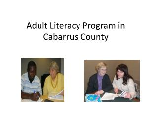 Adult Literacy Program in Cabarrus County