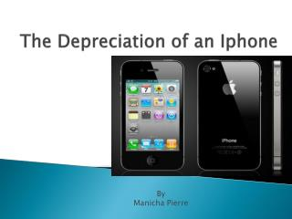 The Depreciation of an Iphone