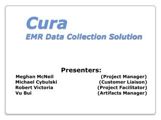 Cura EMR  Data Collection Solution