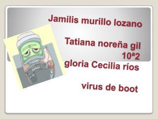 Jamilis murillo lozano Tatiana noreña gil 10ª2 gloria Cecilia ríos virus de boot