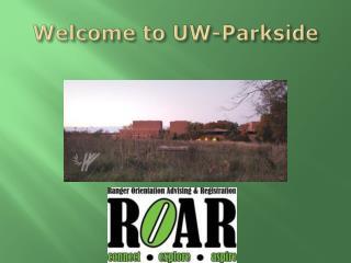 Welcome to UW-Parkside