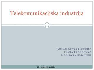Telekomunikacijska industrija