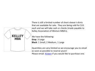 Kelley Shirts