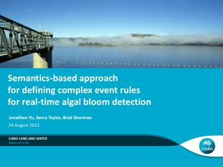 Semantics-based approach  for defining complex event rules for real-time algal bloom detection