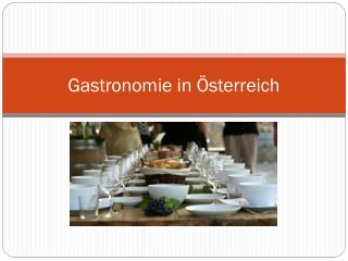 Gastronomie in Österreich
