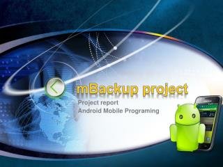 mBackup project