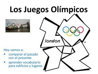 Los  Juegos Ol�mpicos