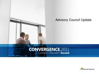 Advisory Council Update