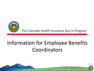 Information for Employee Benefits Coordinators