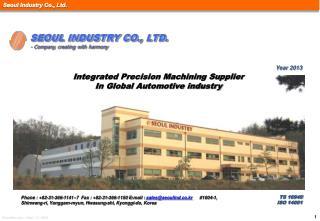 TS 16949  ISO 14001