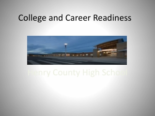 Perkins IV Requirements For Technical and Employability End-of-program Assessments
