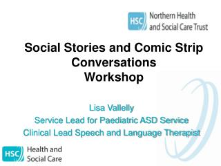 Social Stories and Comic Strip Conversations Workshop