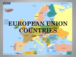 EUROPEAN UNION COUNTRIES