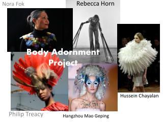 Body Adornment Project
