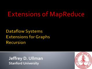 Dataflow  Systems Extensions for  Graphs Recursion