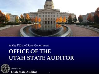 Office of the Utah State Auditor