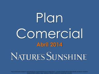 Plan Comercial Abril 2014