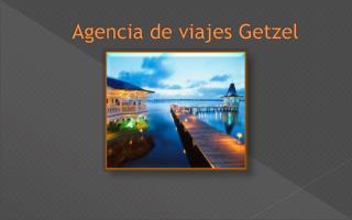 Agencia de viajes Getzel