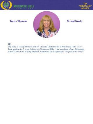Tracey Thomson