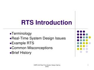 RTS Introduction